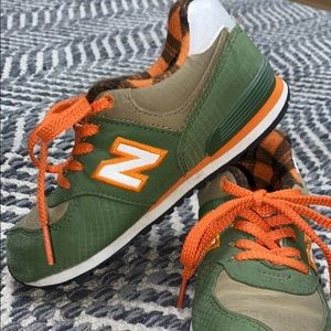 Toddler new balance shoes size 10 like new